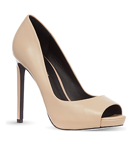KG KURT GEIGER Eleri court shoes (Nude