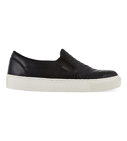 KG KURT GEIGER Londres slip-on trainers (Blk/other