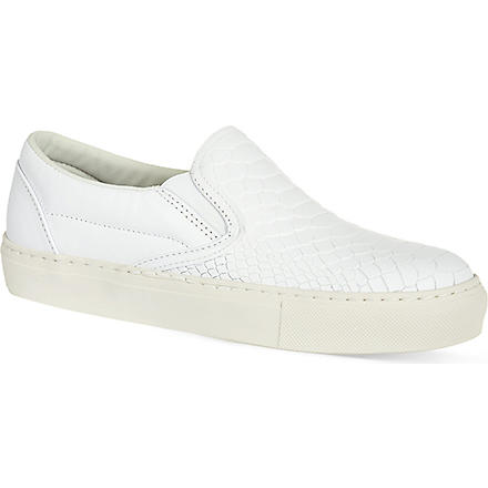 KG KURT GEIGER Londres slip-on trainers (White
