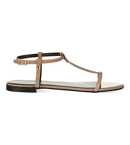 KG KURT GEIGER Match sandals (Nude