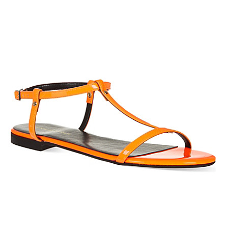 KG KURT GEIGER Match sandals (Orange
