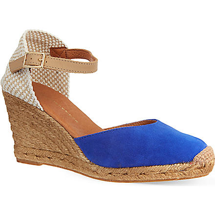 KG KURT GEIGER Monty wedge sandals (Blue