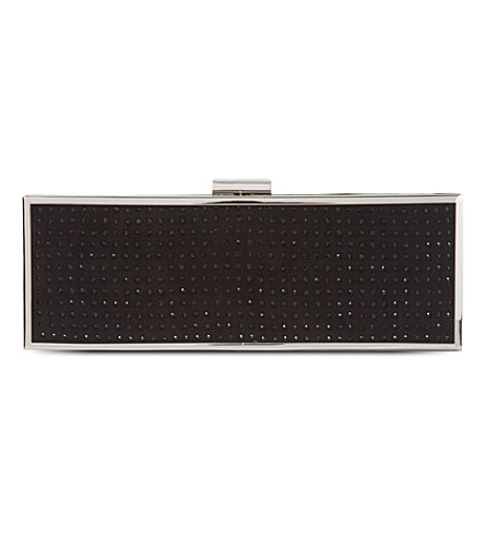 CARVELA Bunny studded clutch (Black