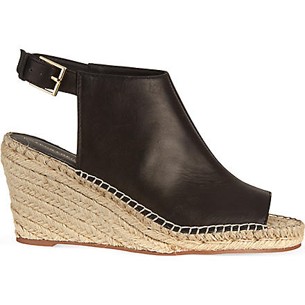 KG KURT GEIGER Nelly wedge sandals (Black