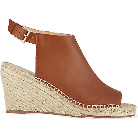 KG KURT GEIGER Nelly wedges (Tan