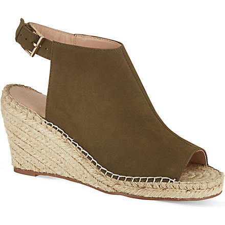 KG KURT GEIGER Nelly wedges (Khaki