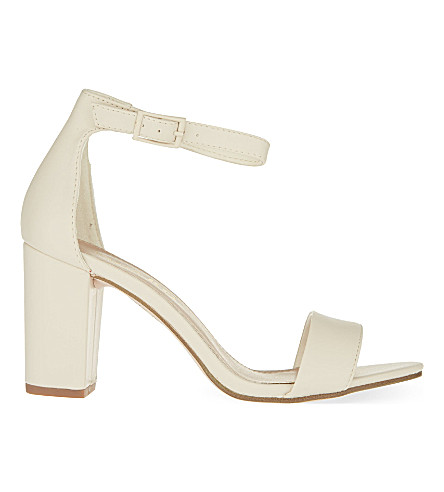 MISS KG Paige heeled sandals (White