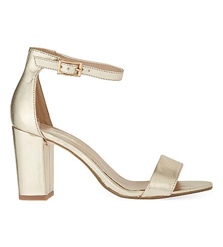 MISS KG Paige heeled sandals (Gold