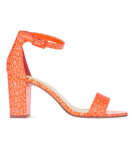 MISS KG Paige block heel sandals (Orange