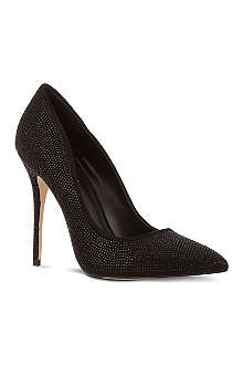 CARVELA Gracious sequin-embellished courts
