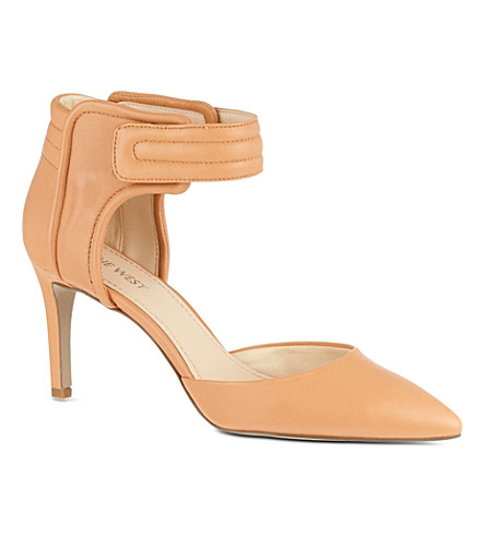 NINE WEST Chanterele leather sandals (Nude