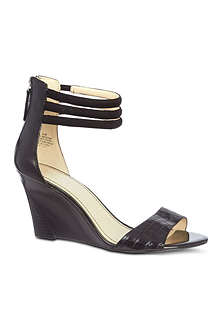 NINE WEST Floriscine leather sandals