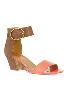 NINE WEST Ventana leather sandals