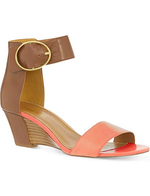 NINE WEST Ventana leather sandals