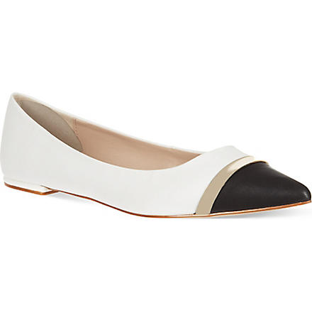 CARVELA Lyric leather pumps (White