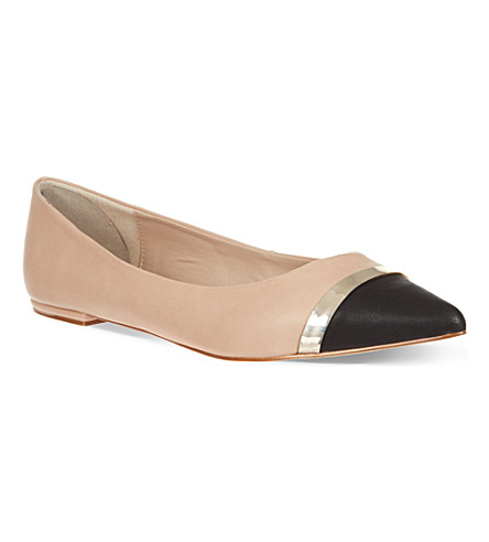 CARVELA Lyric leather flats (Nude