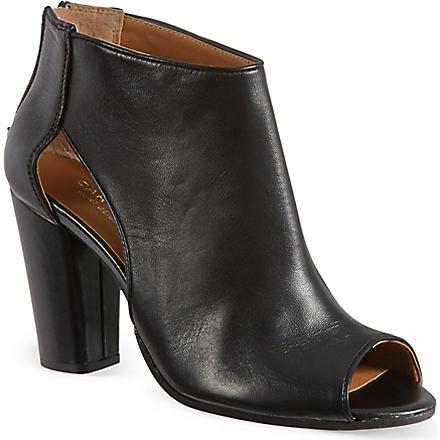 CARVELA Aspire leather shoe boots (Black