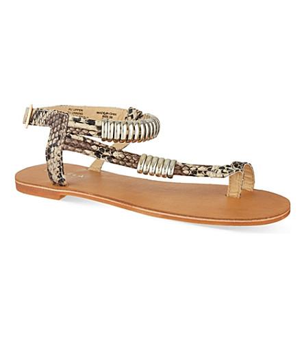 CARVELA Klipper sandals (Nude