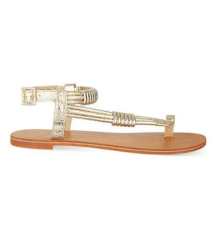 CARVELA Klipper sandals (Gold