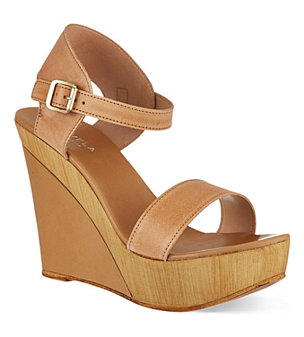 CARVELA Knave wedge sandals (Beige
