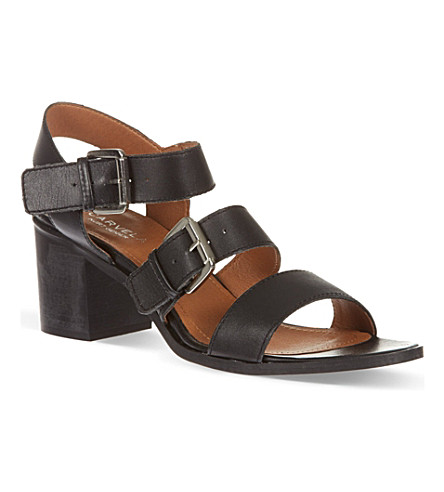 CARVELA Kommand heeled sandals (Black