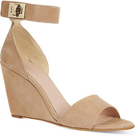 CARVELA Kulprit suede sandals (Nude