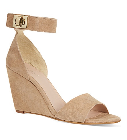 CARVELA Kulprit suede sandals (Nude