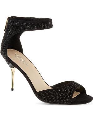 CARVELA Globe glitter sandals