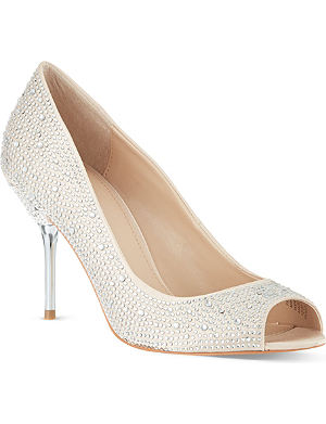 CARVELA Grid court shoes