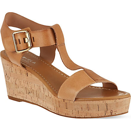 CARVELA Known wedge sandals (Beige
