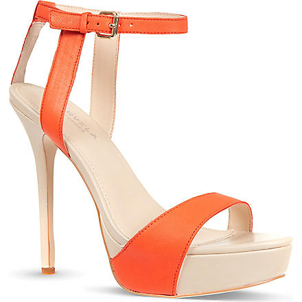 CARVELA Gown contrast sandals (Orange