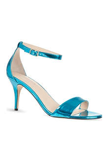 CARVELA Glade metallic heeled sandals