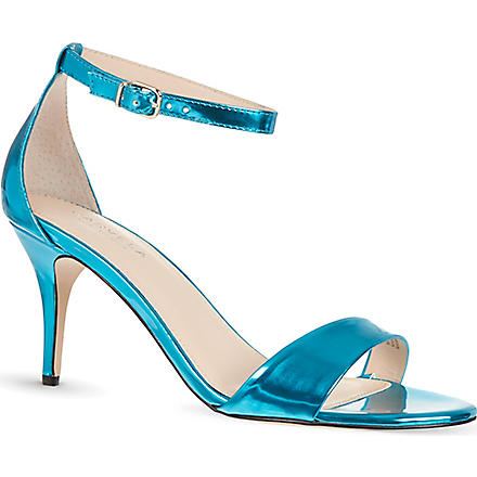 CARVELA Glade metallic heeled sandals (Turquoise