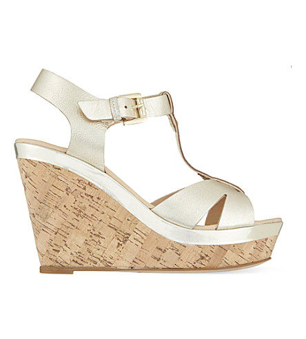 CARVELA Kabby wedge sandals (Gold