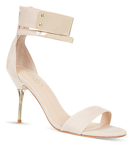 CARVELA Given suede sandals (Nude