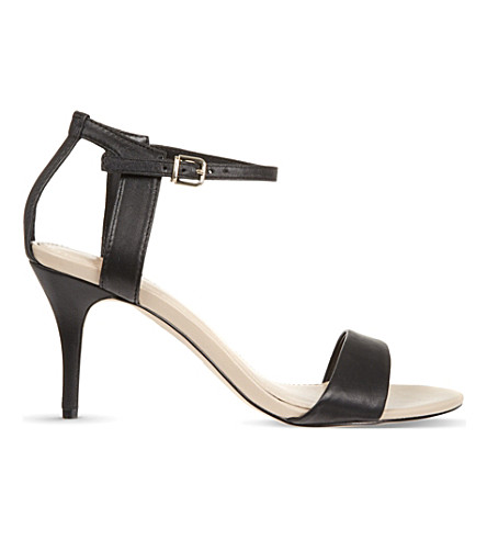 CARVELA Kollude leather heeled sandals (Black