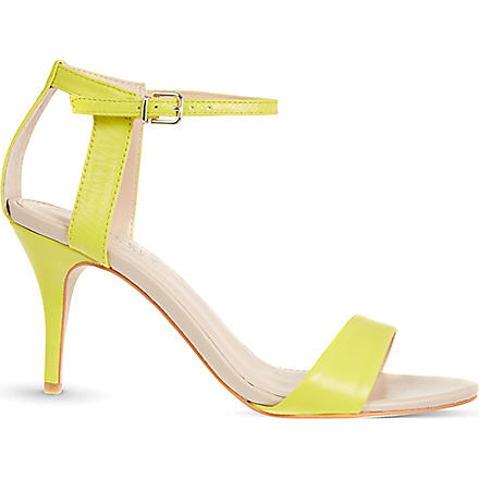 CARVELA Kollude leather sandals (Yellow