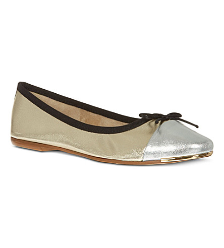 CARVELA Law leather pumps (Gold