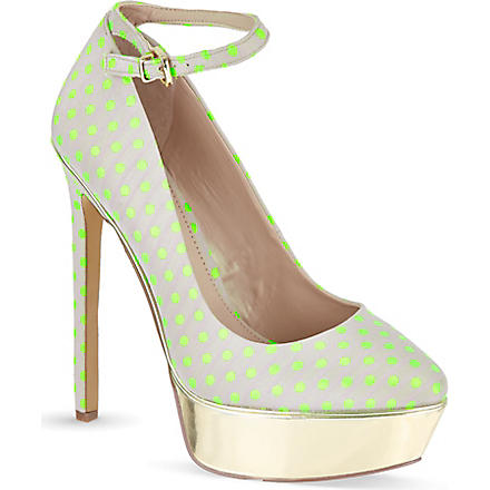 CARVELA Granted polka dot platform courts (Mult/other
