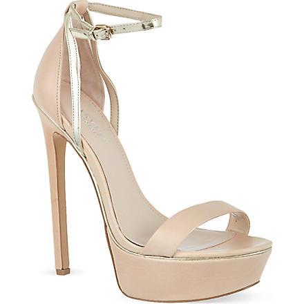 CARVELA Graph sandals (Nude