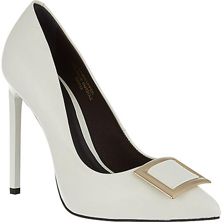 KG BY KURT GEIGER Bryony court shoes (White