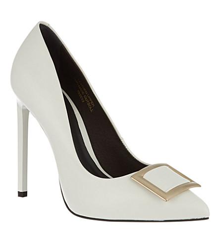 KG KURT GEIGER Bryony court shoes (White