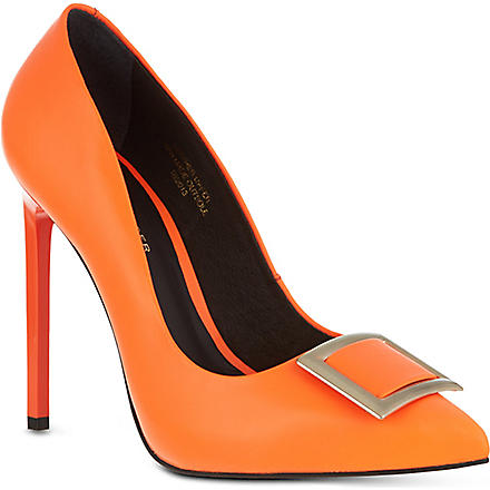 KG KURT GEIGER Bryony court shoes (Orange