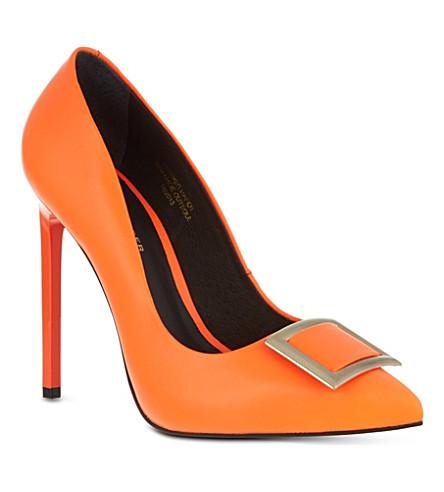 KG KURT GEIGER Bryony court shoes (Orange