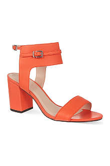 CARVELA Kindly heeled leather sandals