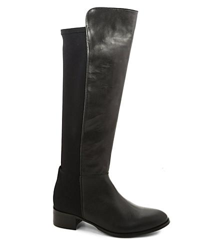 KG KURT GEIGER William knee-high leather boots (Black