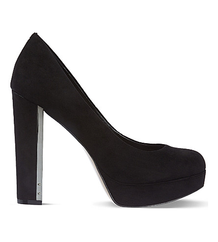 CARVELA Automatic suede courts (Blk/other