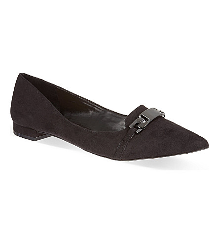 CARVELA Linked suede pumps (Blk/other