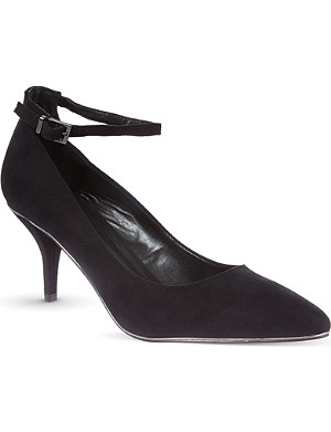 CARVELA Atom suedette court shoes