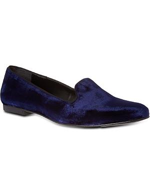 KG KURT GEIGER Lexie velvet slippers